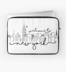 Funda para portátil Bienvenido a Nueva York