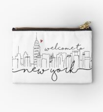 Welcome to New York Studio Pouch