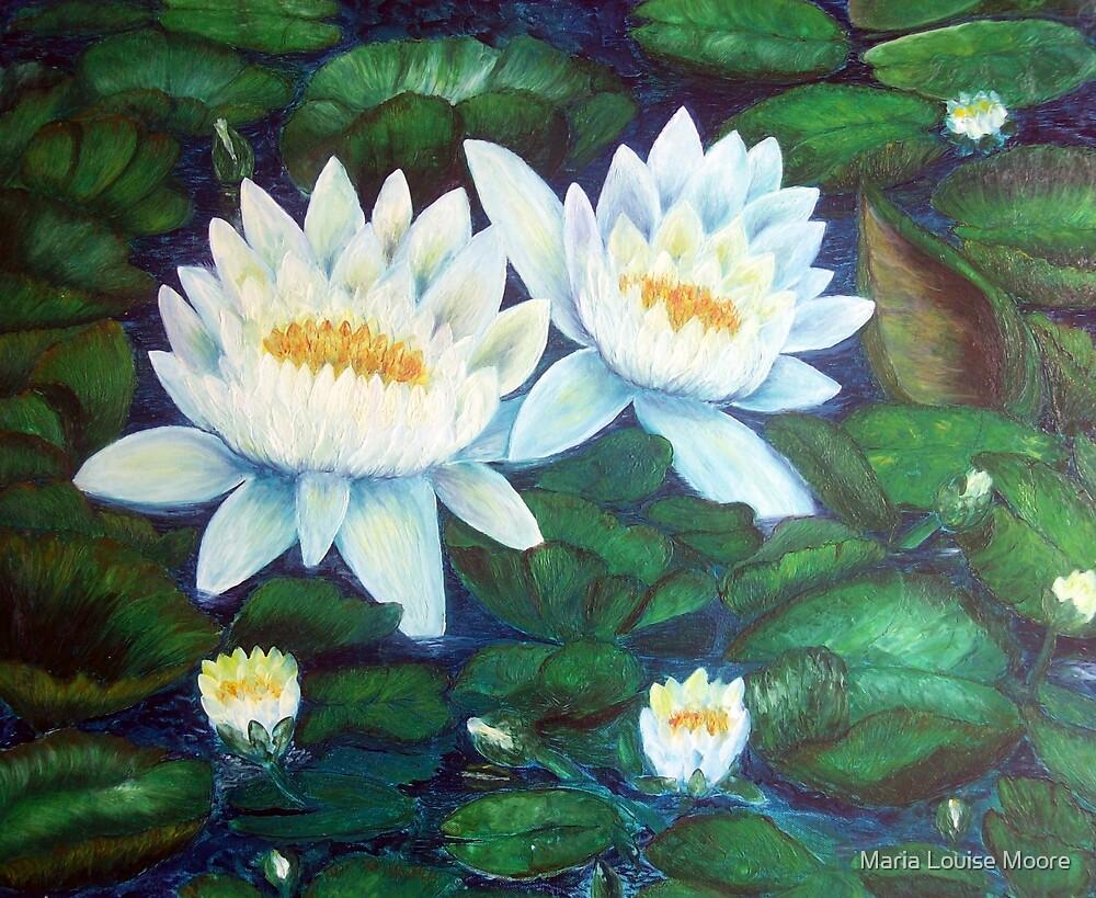 Waterlilies by Maria Louise Moore
