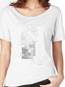 map Women's Relaxed Fit T-Shirt