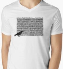 crow Men's V-Neck T-Shirt
