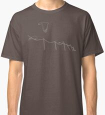 Birds on wire Classic T-Shirt