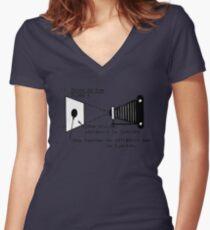la prise de vue Women's Fitted V-Neck T-Shirt