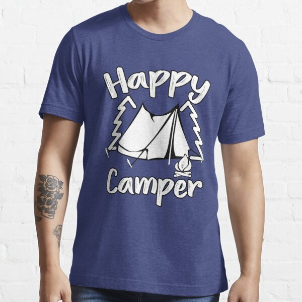 Happy Camper Happy Camping Family Essential T-Shirt