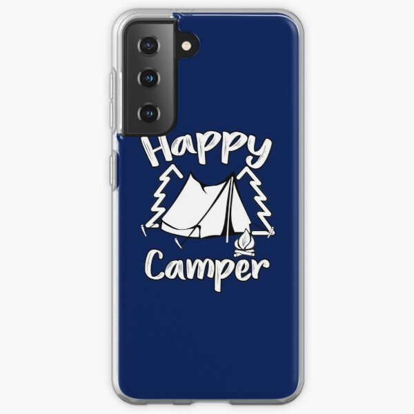 Happy Camper Happy Camping Family Samsung Galaxy Soft Case