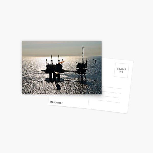 The Beryl Alpha in silhouette Postcard