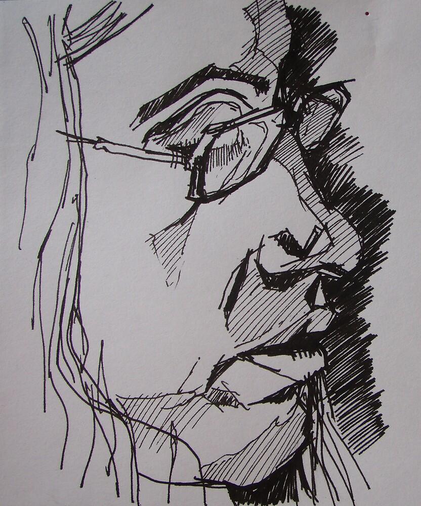 Portrait by Roger Stannard