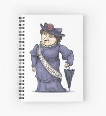 Nellie McClung Spiral Notebook