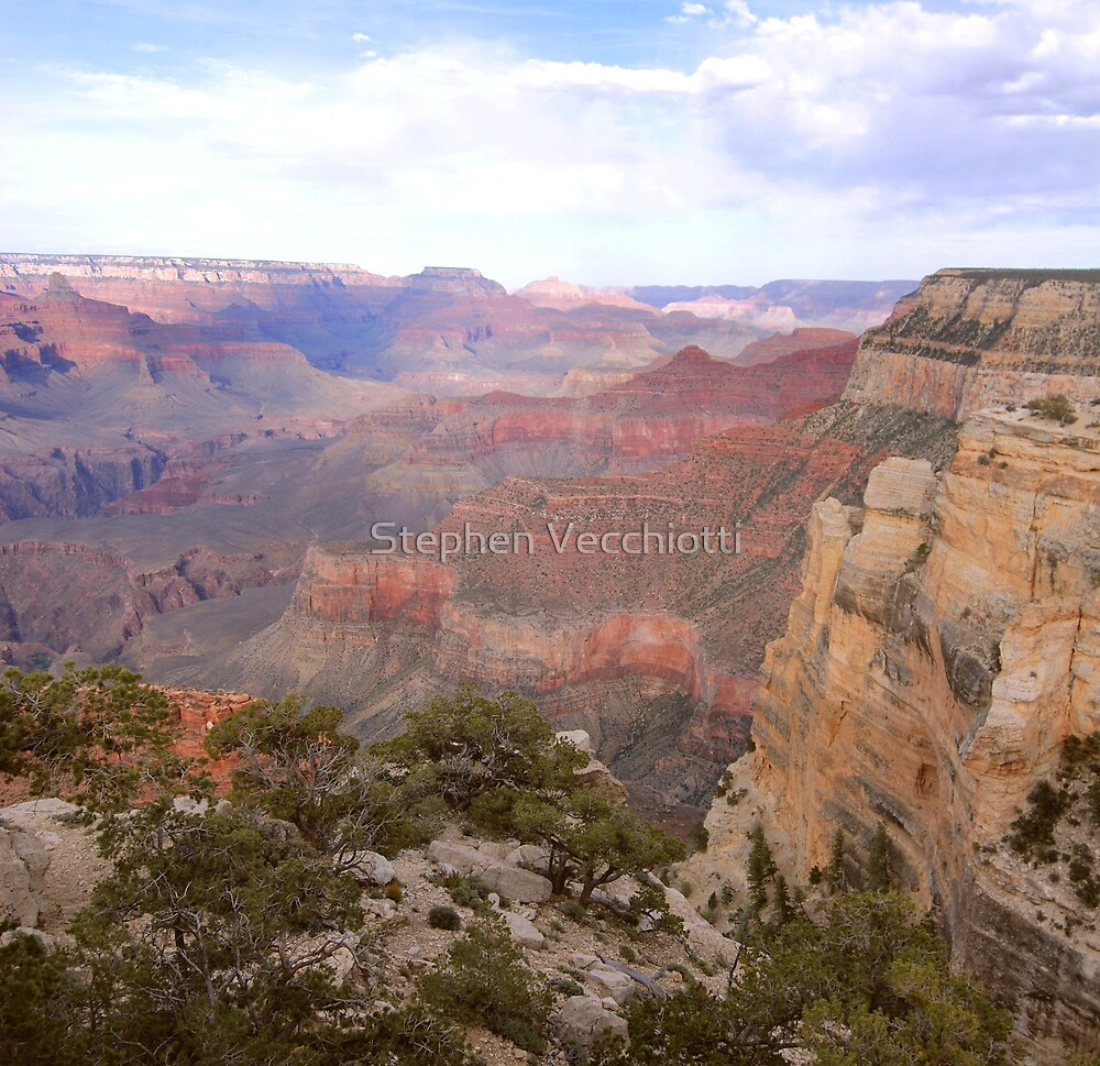 Grand Canyon Pastels by Stephen Vecchiotti