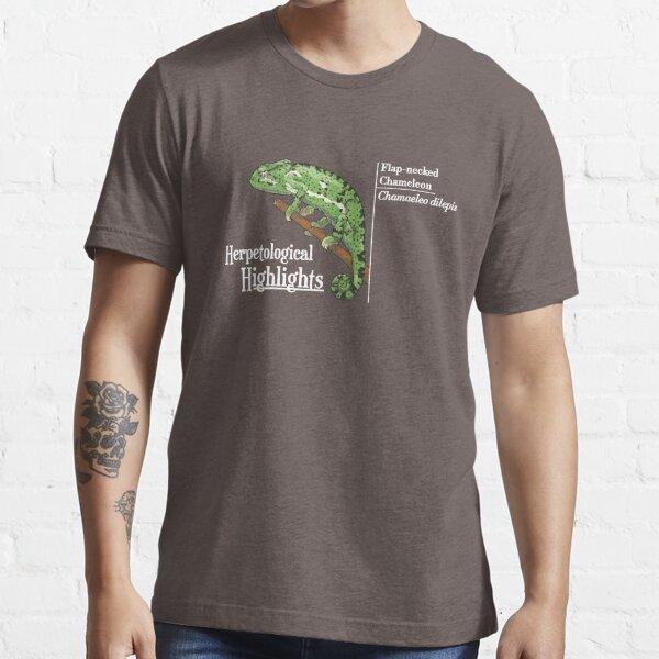Flap-necked chameleon - Chamaeleo dilepis | Alternative white Essential T-Shirt