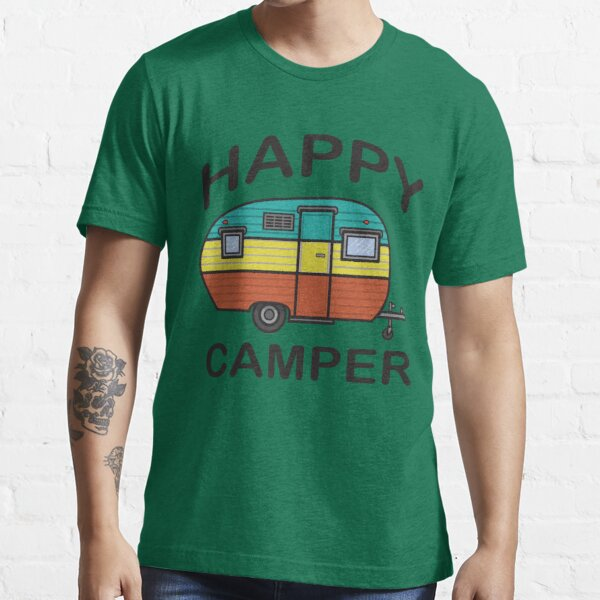 Fun Happy Camper Family Camping Essential T-Shirt