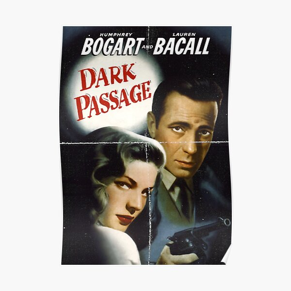Dark Passage - Film Noir Art Poster