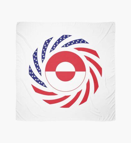 Greenlandic American Multinational Patriot Flag Scarf