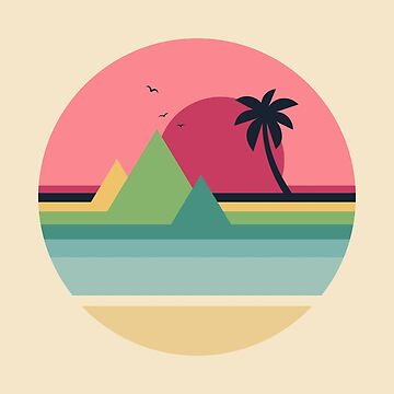 Tropical Sunset by AndyWestface