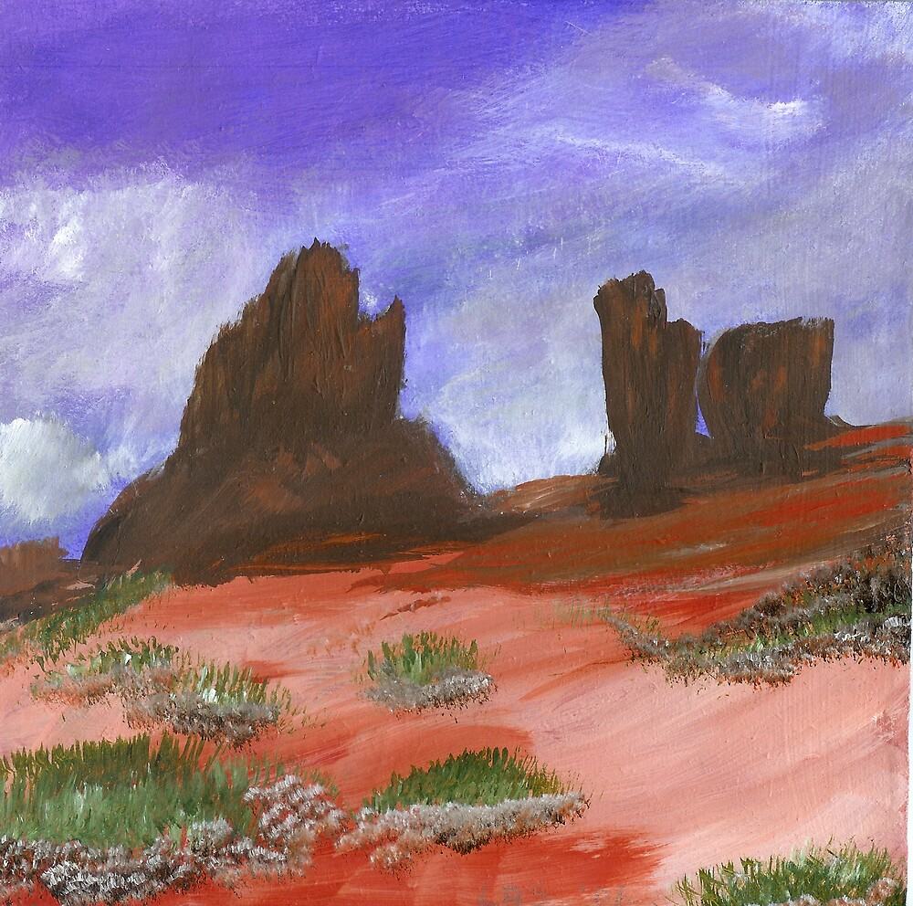 The Glory of Red Rocks by ArtByLinda
