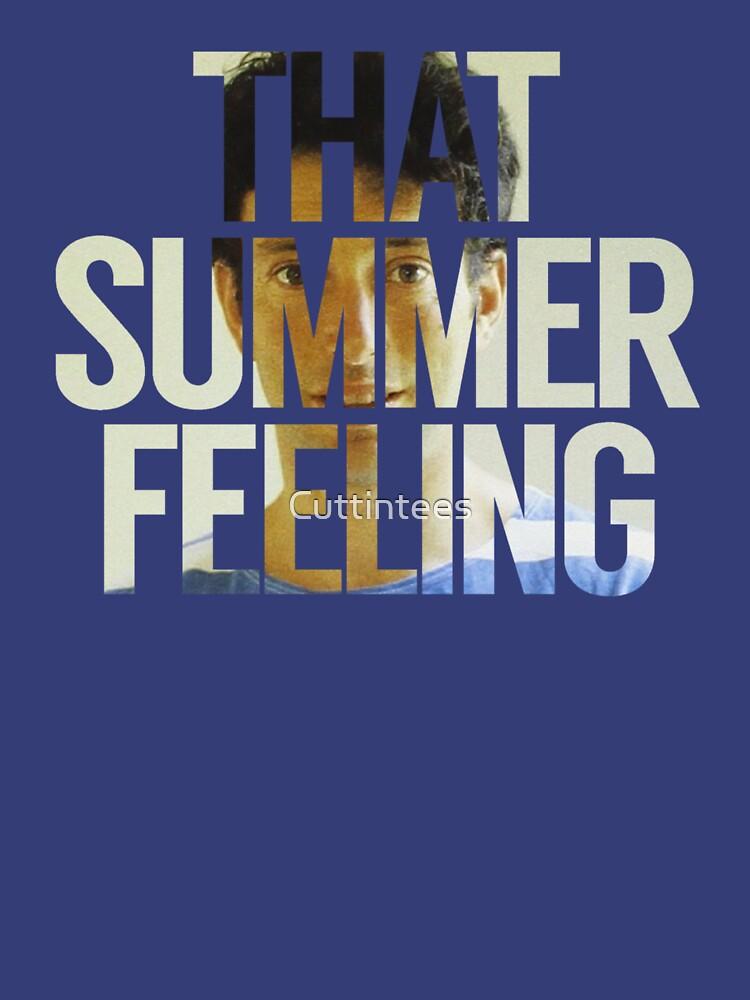 Jonathan Richman That Summer Feeling by Cuttintees