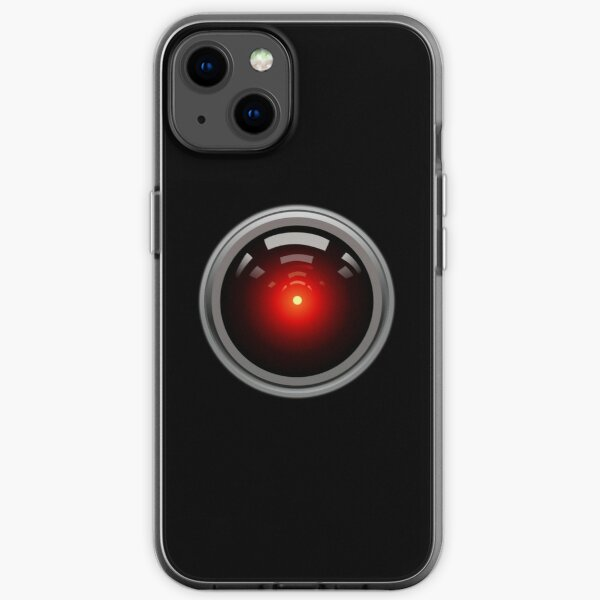 Artificial Intelligence. HAL 9000. AI. Computer Eye. iPhone Soft Case
