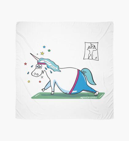"""""""Fluffy"""" fat unicorn Scarf"""