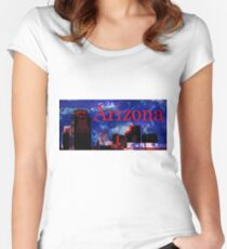 Arizona Proud - Phoenix Skyline Fitted Scoop T-Shirt