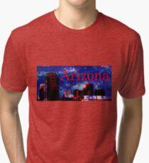 Arizona Proud - Phoenix Skyline Tri-blend T-Shirt