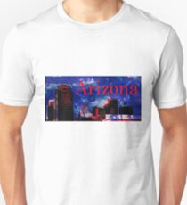 Arizona Proud - Phoenix Skyline Slim Fit T-Shirt