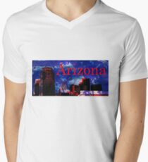 Arizona Proud - Phoenix Skyline V-Neck T-Shirt