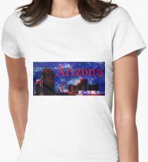 Arizona Proud - Phoenix Skyline Fitted T-Shirt