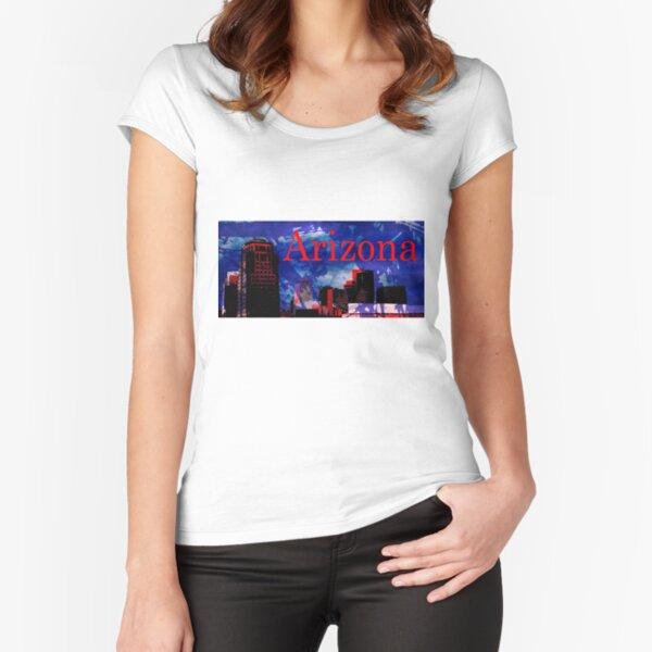 Arizona Proud - Phoenix Skyline Fitted Scoop T-Shirt
