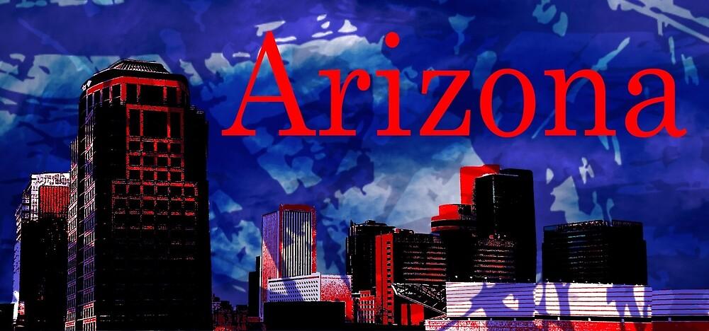 Arizona Proud - Phoenix Skyline by Chiwow-Media
