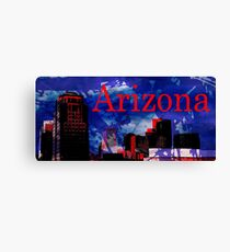 Arizona Proud - Phoenix Skyline Canvas Print