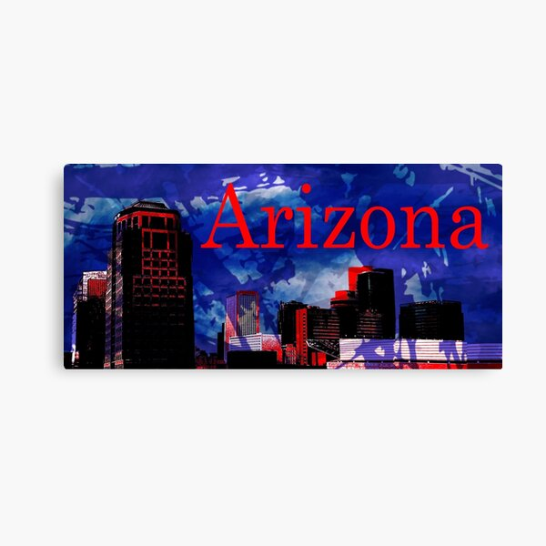 Arizona Proud - Phoenix Skyline Canvas Print