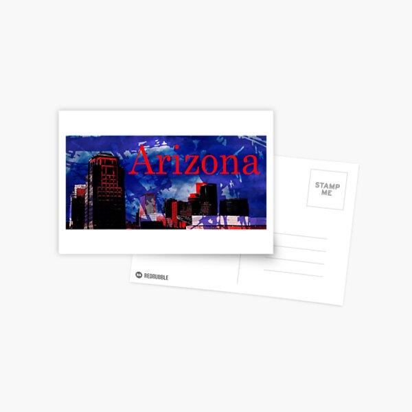 Arizona Proud - Phoenix Skyline Postcard