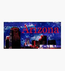 Arizona Proud - Phoenix Skyline Photographic Print