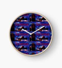 Arizona Proud - Phoenix Skyline Clock