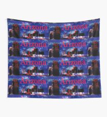 Arizona Proud - Phoenix Skyline Wall Tapestry