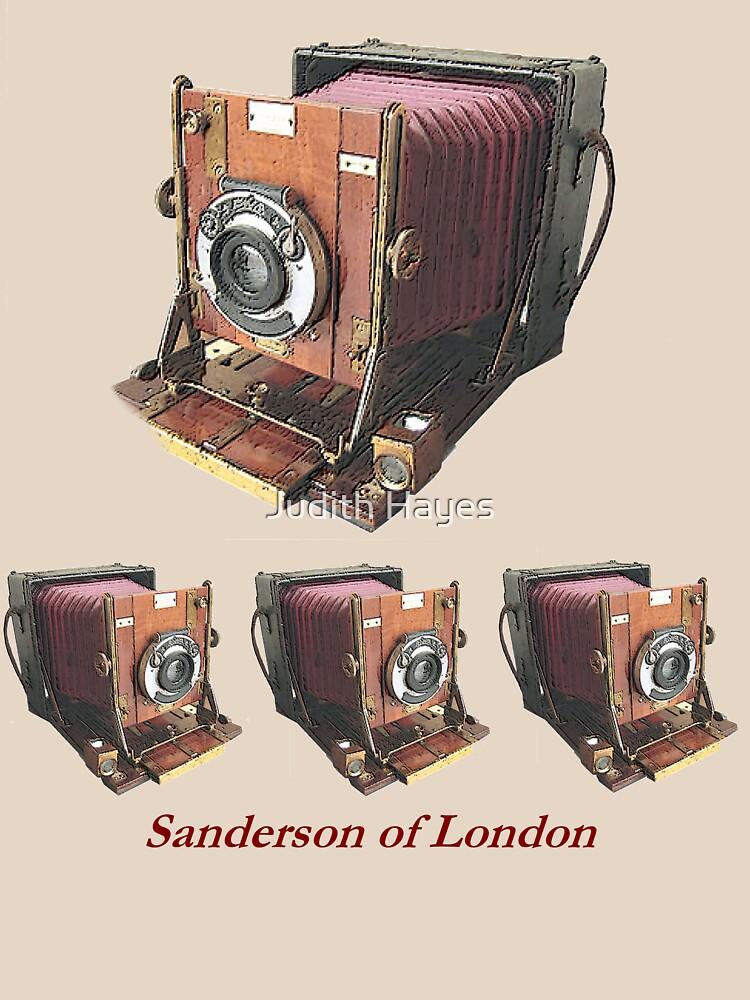 Vintage Sanderson Field Camera by mainephotobug