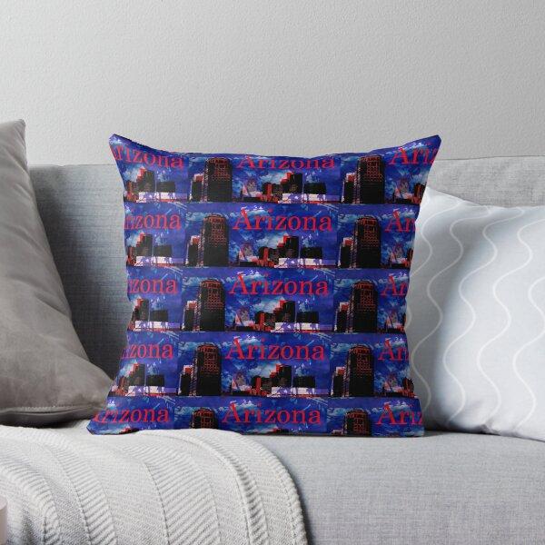 Arizona Proud - Phoenix Skyline Throw Pillow