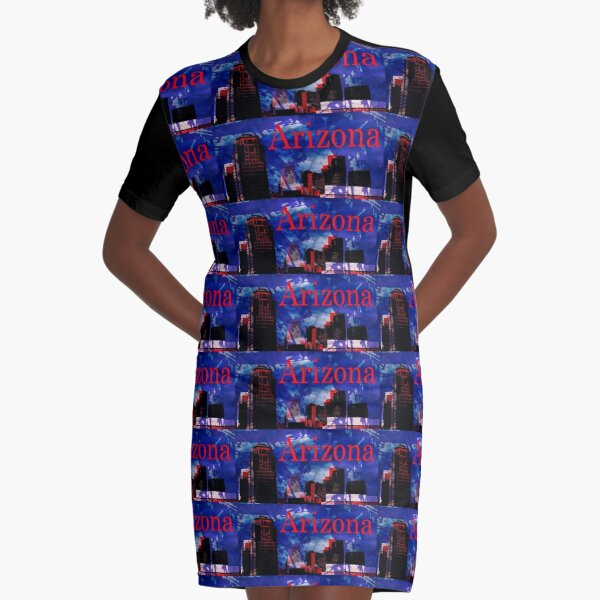 Arizona Proud - Phoenix Skyline Graphic T-Shirt Dress