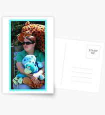 Lovin' Stuffed Things Postcards