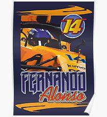 Fernando Alonso | F1 Poster