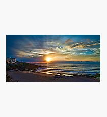 Maroubra sunrise Photographic Print