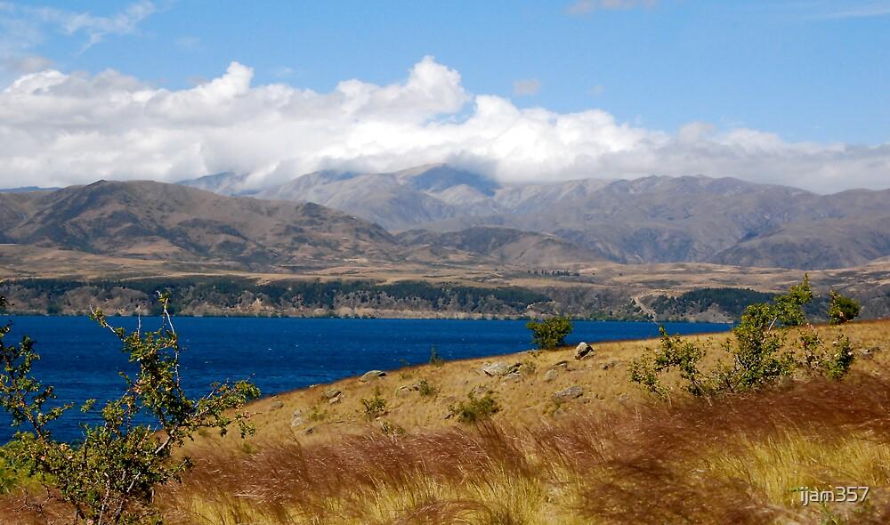 Lake Benmore South Island New Zealand by ijam357