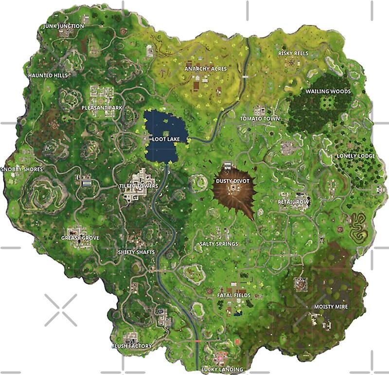 Fortnite Map Landmarks Unnamed Quiz By Lukef13
