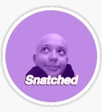 Snatched Sticker