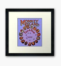 THE SECRET OF MONKEY ISLAND - DISC PASSWORD Framed Print