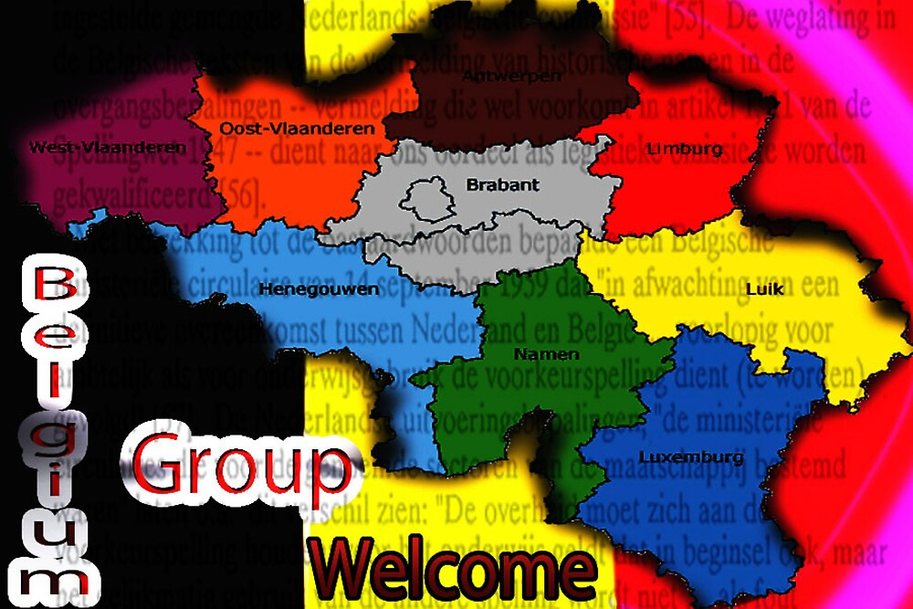 Welcome Belgium Group by alaskaman53