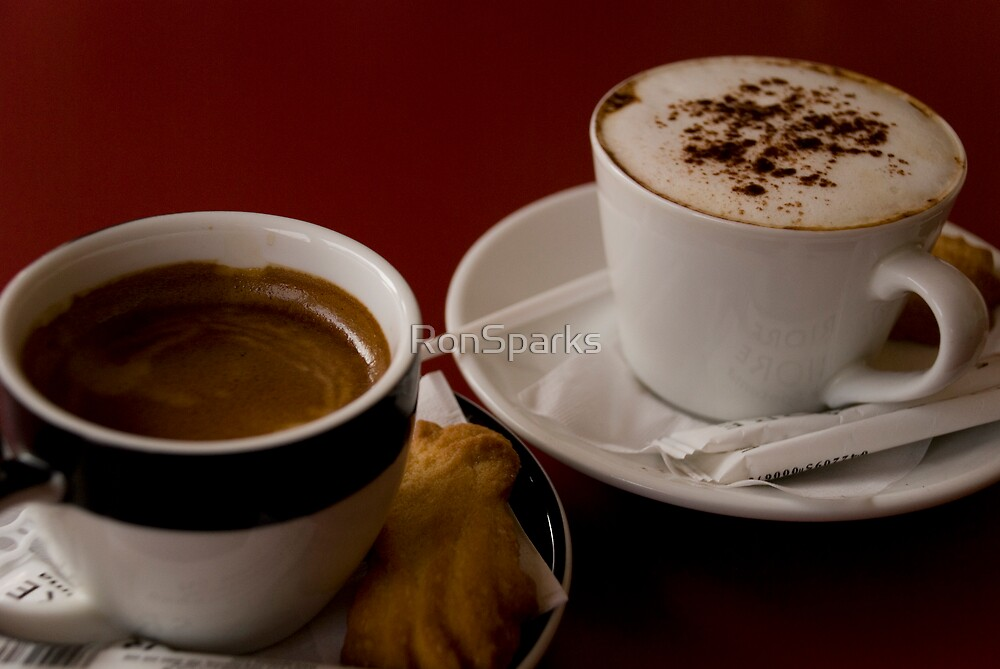 Esspresso or Cappuccino? by RonSparks