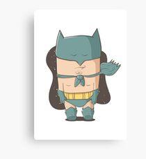 Batmon Canvas Print