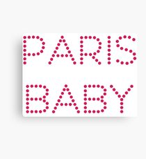 """""""Paris baby"""" original gift design Canvas Print"""