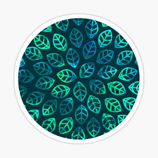 Blue Jungle Sticker